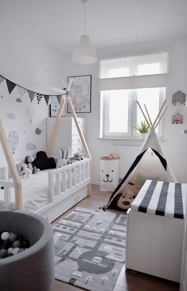 łóżko Tipi